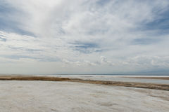 The scenery of Saline Lake Royalty Free Stock Photo