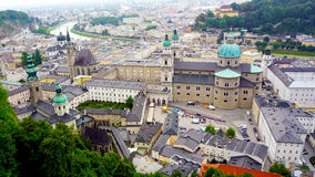 Scenery of Salzburg Old Town city Stock Photo