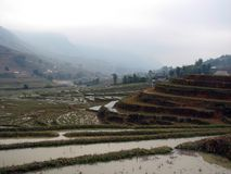Scenery of Sapa Village, Vietnam Royalty Free Stock Images