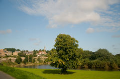 Scenery in a scottish town Royalty Free Stock Photo