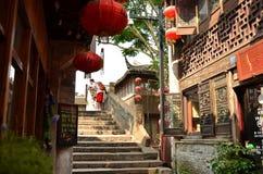 The scenery of Shantang Street at Suzhou,China. The scenery of Shantang Street at Suzhou royalty free stock image