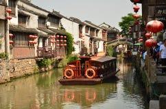 The scenery of Shantang Street at Suzhou,China. The scenery of Shantang Street at Suzhou stock images