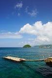 Scenery spot in Boracay island Royalty Free Stock Photos