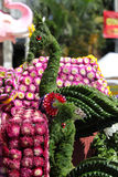 Scenery from statues and flowers on the street, Thailand. South east asia stock photos