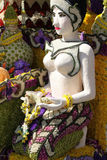 Scenery from statues and flowers on the street, Thailand. South east asia stock images