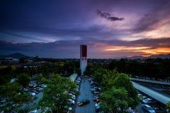 Sunset at Ipoh, Perak Malaysia Stock Photography
