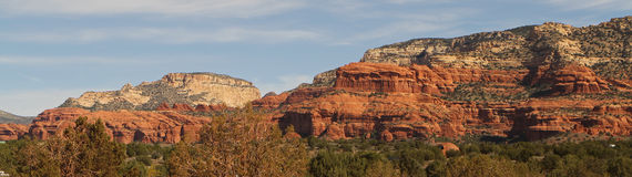 Scenery surrounding Sedona Arizona royalty free stock photography