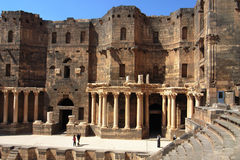 Scenery in Syria stock image