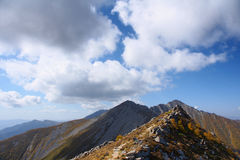 Scenery of Taibai Mountain. The autumnal Scenery of Taibai Mountain,Shaanxi,China Stock Image