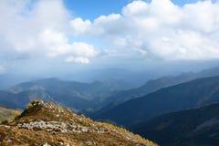 Scenery of Taibai Mountain. The autumnal Scenery of Taibai Mountain,Shaanxi,China Royalty Free Stock Photography