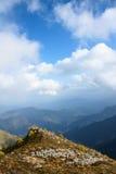 Scenery of Taibai Mountain. The autumnal Scenery of Taibai Mountain,Shaanxi,China Stock Photo