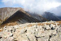 Scenery of Taibai Mountain. The autumnal Scenery of Taibai Mountain,Shaanxi,China Royalty Free Stock Image