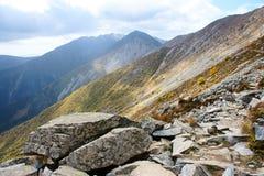 Scenery of Taibai Mountain. The autumnal Scenery of Taibai Mountain,Shaanxi,China Stock Photography