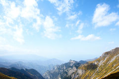 Scenery of Taibai Mountain. The autumnal Scenery of Taibai Mountain,Shaanxi,China Royalty Free Stock Photos