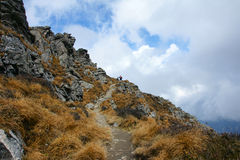 Scenery of Taibai Mountain Stock Photography
