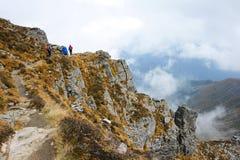 Scenery of Taibai Mountain Stock Images