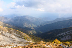 Scenery of Taibai Mountain. The autumnal Scenery of Taibai Mountain,Shaanxi,China Royalty Free Stock Images
