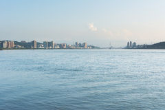 Scenery of  Tamsui river Stock Photo