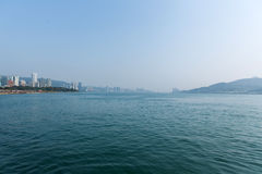Scenery of Tamsui river Stock Photos
