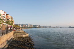 The scenery of Tamsui Royalty Free Stock Photography