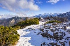 Scenery of Tatra mountains at winter. Poland Stock Photos