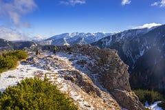 Scenery of Tatra mountains at winter. Poland Royalty Free Stock Image