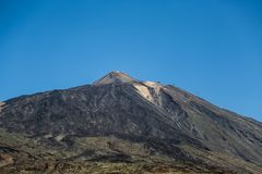 Scenery in Teide National Park in Tenerife Stock Photography