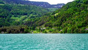 Scenery of Thun Lake Stock Photography