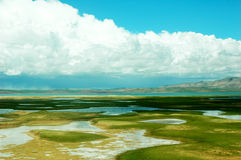 Scenery in Tibet Stock Photos