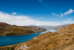Scenery in Tibet Royalty Free Stock Image