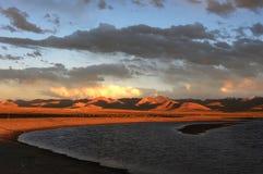Scenery in Tibet Stock Image