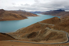 Scenery in Tibet royalty free stock images