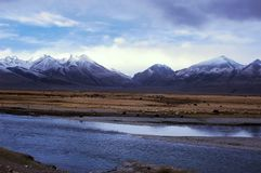 Scenery in Tibet Stock Photo