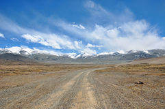 Scenery in Tibet Royalty Free Stock Photo
