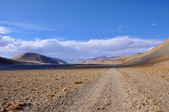 Scenery in Tibet Stock Image