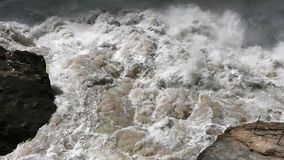 Scenery of Tiger Leaping Gorge. stock video footage