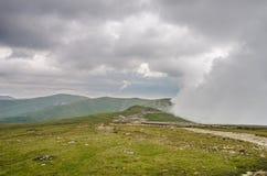 Scenery Transalpina Stock Image