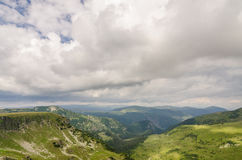 Scenery Transalpina Stock Image
