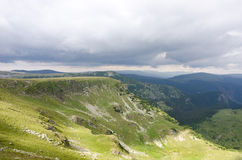 Scenery Transalpina Stock Photography