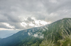 Scenery Transalpina Royalty Free Stock Photo