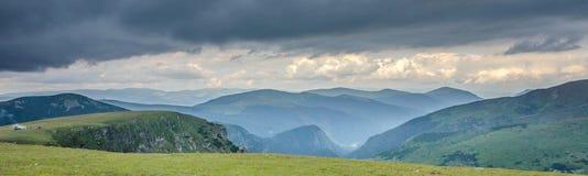 Scenery Transalpina Stock Photography