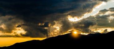 Scenery Transalpina Stock Photo