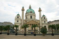 The scenery of Vienna City Royalty Free Stock Photography