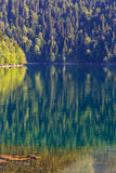 Scenery view of colorful mountain lake Royalty Free Stock Image