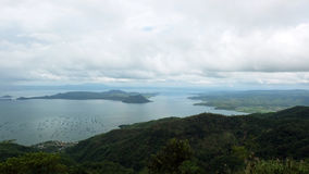 Scenery view of Taal lake royalty free stock photography