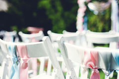 Scenery on wedding Stock Photos