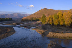 Scenery of Western China. Asia China Sichuan Scenery Plateau Royalty Free Stock Images