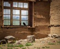 Scenery through the Window Stock Photo