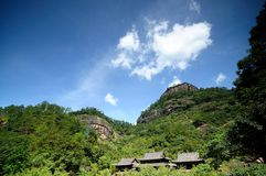 The scenery of Wuyishan. The beautiful scenery of Wuyishan royalty free stock image