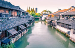 The scenery of Wuzhen Royalty Free Stock Image